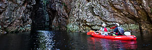 Kayaking in the Garden Route